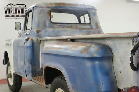 1959 Chevrolet 3100 RARE 3100 3/4 TON V8   Denver, CO   Worldwide Vintage Autos in Denver, CO