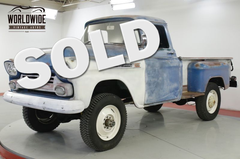 1959 Chevrolet 3100 RARE 3100 3/4 TON V8   Denver, CO   Worldwide Vintage Autos