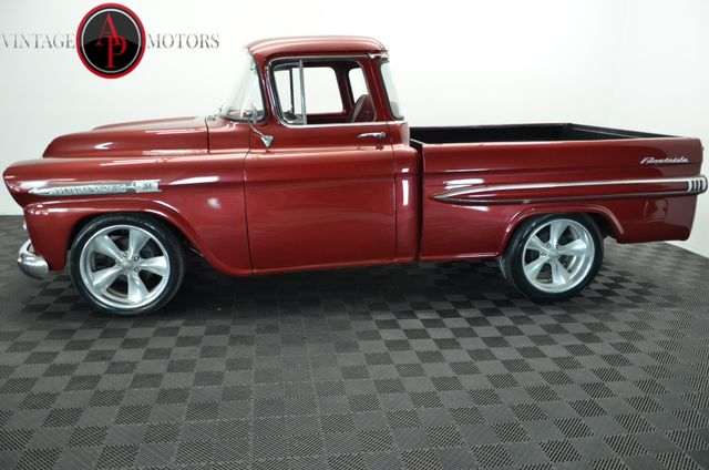 1959 Chevrolet 3100 SHORT BOX BIG WINDOW FLEETSIDE