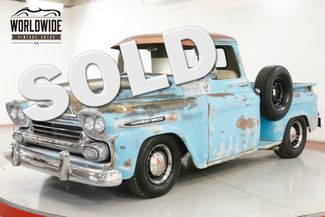 1959 Chevrolet APACHE RESTOMOD PATINA 350 V8 AUTO HOT ROD | Denver, CO | Worldwide Vintage Autos in Denver CO
