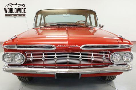 1959 Chevrolet BELAIR  350 V8 700R4 AUTO TORQUE THRUST WHEELS | Denver, CO | Worldwide Vintage Autos in Denver, CO