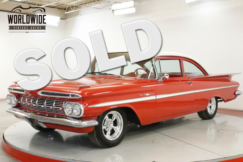 1959 Chevrolet BELAIR  350 V8 700R4 AUTO TORQUE THRUST WHEELS | Denver, CO | Worldwide Vintage Autos