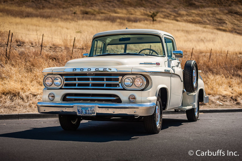 1959 Dodge D100 Pickup Truck | Concord, CA | Carbuffs in Concord, CA
