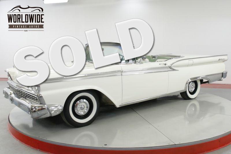 1959 Ford GALAXIE SKYLINE RARE HARDTOP FACTORY AIR! ALL ORIGINAL   Denver, CO   Worldwide Vintage Autos