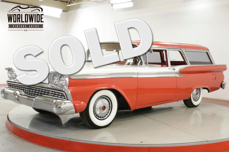 1959 Ford RANCH WAGON  STATION WAGON. HOT ROD. AC! V8 4W POWER DISC | Denver, CO | Worldwide Vintage Autos