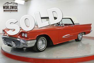 1959 Ford THUNDERBIRD HIGH END RESTORATION NUMBERS MATCHING 430 V8  | Denver, CO | Worldwide Vintage Autos in Denver CO