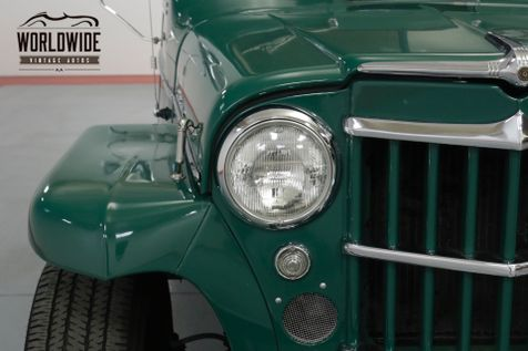 1959 Jeep WILLYS RESTORED! 4X4! DANA. DISC. PS. PB. NICE | Denver, CO | Worldwide Vintage Autos in Denver, CO