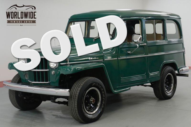 1959 Jeep WILLYS RESTORED! 4X4! DANA. DISC. PS. PB. NICE   Denver, CO   Worldwide Vintage Autos