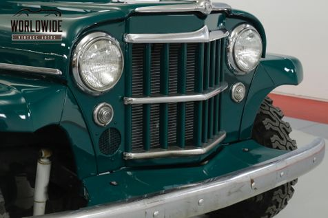 1959 Jeep WILLYS WAGON EXTREMELY CLEAN. 4X4. NEW PAINT MUST SEE  | Denver, CO | Worldwide Vintage Autos in Denver, CO