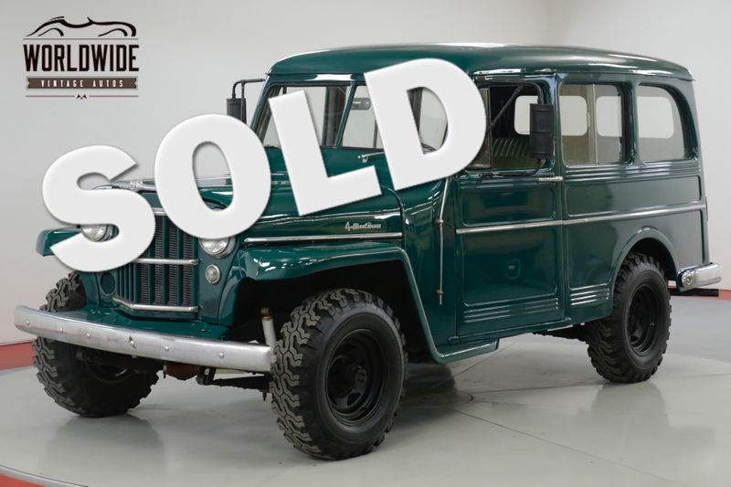 1959 Jeep WILLYS WAGON EXTREMELY CLEAN. 4X4. NEW PAINT MUST SEE  | Denver, CO | Worldwide Vintage Autos