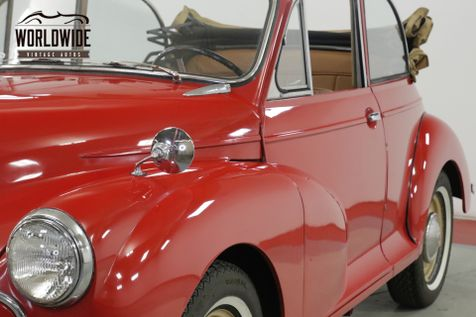 1959 Morris MINOR RARE CRUISER SUMMER CONVERTIBLE LEMAY MUSEUM | Denver, CO | Worldwide Vintage Autos in Denver, CO