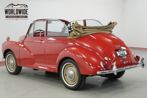 1959 Morris MINOR CONVERTIBLE FROM THE HAROLD LEMAY MUSEUM  | Denver, CO | Worldwide Vintage Autos in Denver, CO