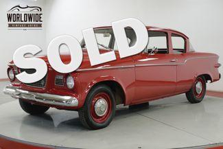 1959 Studebaker LARK LOW MILES TIME CAPSULE CHROME RARE MUST SEE | Denver, CO | Worldwide Vintage Autos in Denver CO