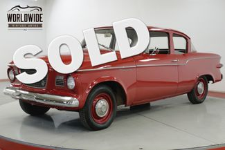 1959 Studebaker LARK LOW MILES TIME CAPSULE CHROME RARE MUST SEE | Denver, CO | Worldwide Vintage Autos in Denver CO