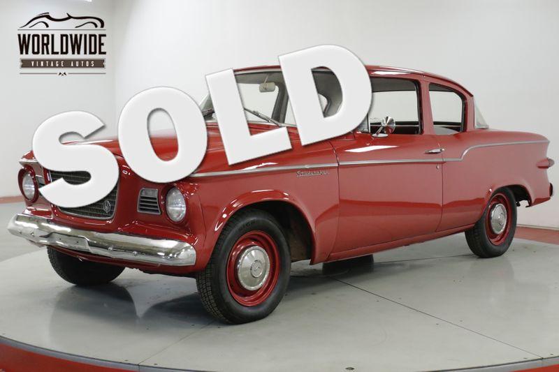 1959 Studebaker LARK LOW MILES TIME CAPSULE CHROME RARE MUST SEE   Denver, CO   Worldwide Vintage Autos