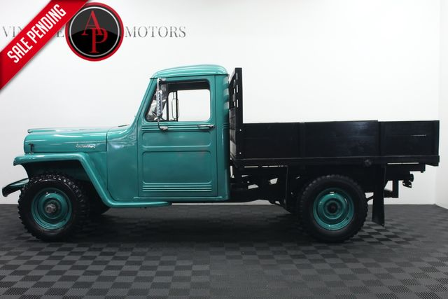 1959 Willys TRUCK 4X4 I6 SUPER HURRICANE FRAME OFF