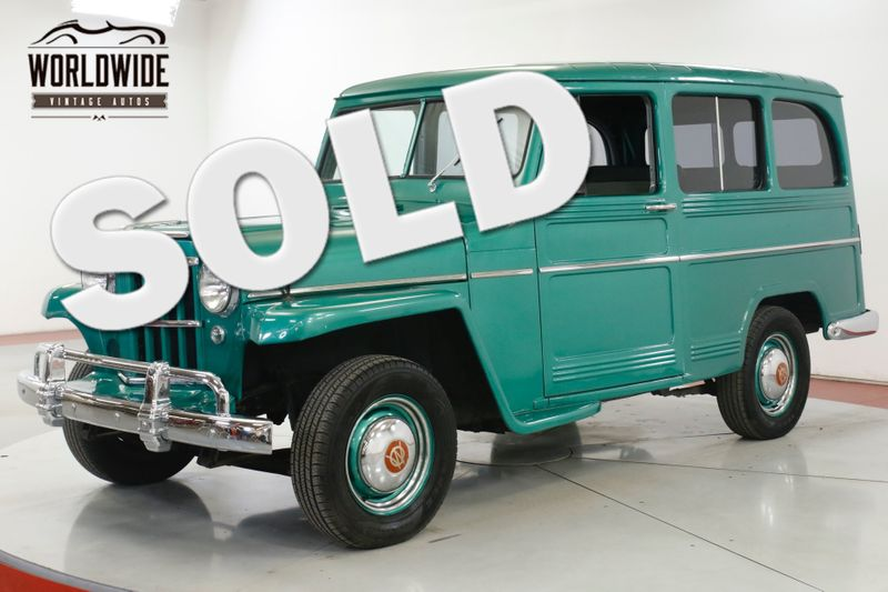 1959 Willys WAGON 2 OWNER TIME CAPSULE EXCELLENT CONDITION | Denver, CO | Worldwide Vintage Autos