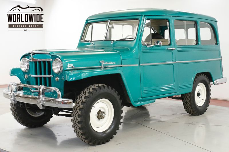 1959 Willys WAGON RARE OVERLAND COLLECTOR GRADE    Denver, CO   Worldwide Vintage Autos