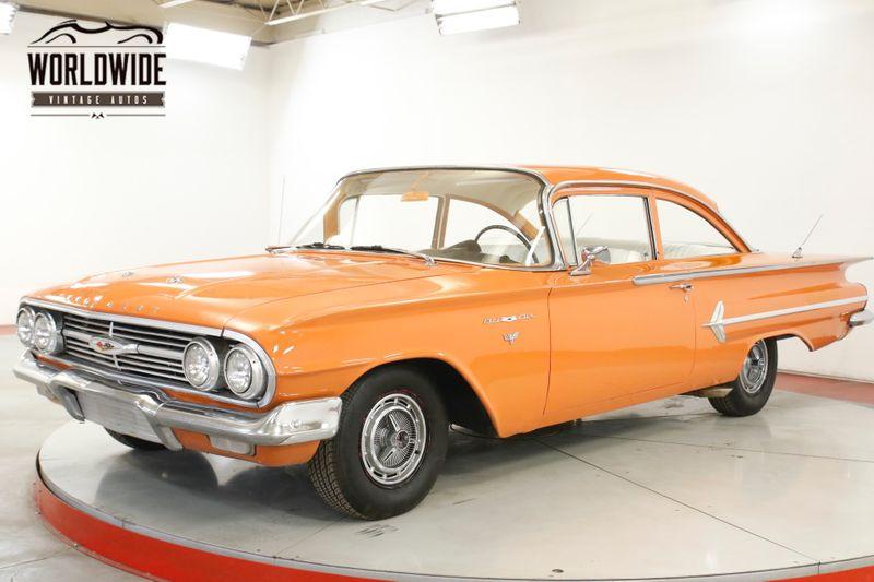 1960 Chevrolet BELAIR  350 V8 AUTO POWER FRONT DISC NEW INTERIOR  | Denver, CO | Worldwide Vintage Autos