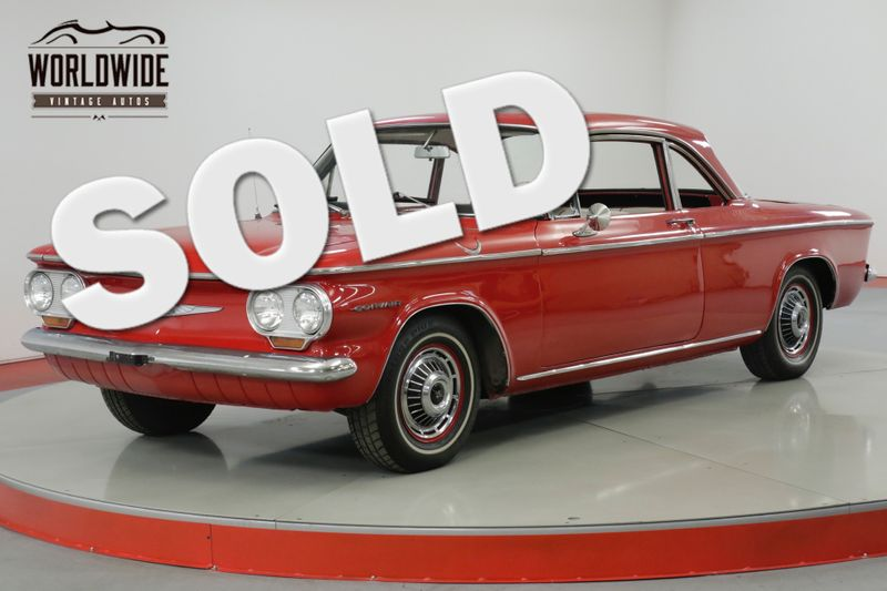 1960 Chevrolet CORVAIR NEW INTERIOR, NEW REBUILT ENGINE  | Denver, CO | Worldwide Vintage Autos