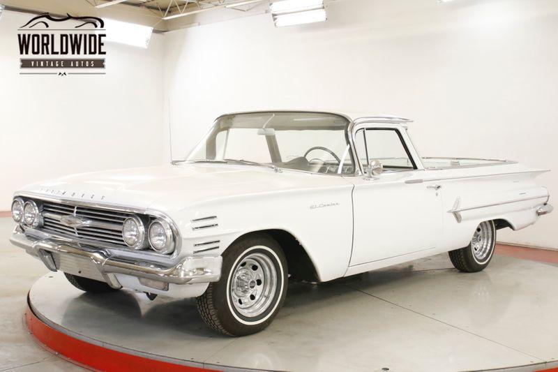 1960 Chevrolet EL CAMINO RARE BIG BACK WINDOW V8 AUTO PS   Denver, CO   Worldwide Vintage Autos