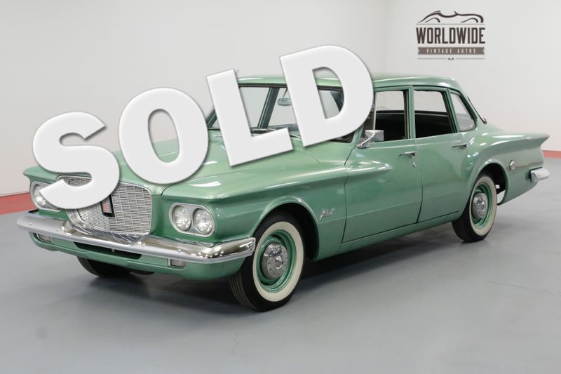1960 Chrysler VALIANT COLLECTOR GRADE. CA CAR! AUTO RARE 1ST YEAR | Denver, CO | Worldwide Vintage Autos
