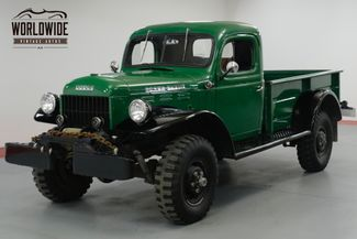 1960 Dodge POWER WAGON RESTORED AND BEAUTIFUL! 4X4. PTO WINCH. MUST SEE! | Denver, CO | Worldwide Vintage Autos in Denver CO