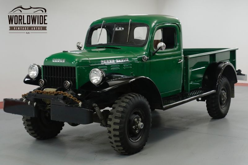 1960 Dodge POWER WAGON RESTORED AND BEAUTIFUL! 4X4. PTO WINCH. MUST SEE! | Denver, CO | Worldwide Vintage Autos