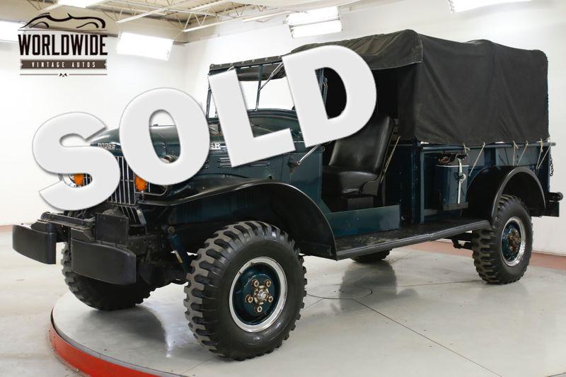 1960 Dodge POWER WAGON WDX 4x4 BRADEN WINCH RARE CARRIER | Denver, CO | Worldwide Vintage Autos