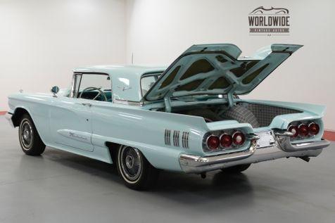 1960 Ford THUNDERBIRD 352 CID V8. AUTO. AQUAMARINE. 2 OWNERS!  | Denver, CO | Worldwide Vintage Autos in Denver, CO
