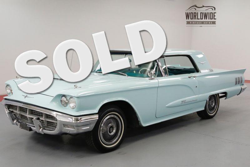 1960 Ford THUNDERBIRD 352 CID V8. AUTO. AQUAMARINE. 2 OWNERS!  | Denver, CO | Worldwide Vintage Autos