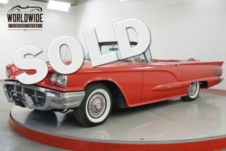 1960 Ford THUNDERBIRD FRAME OFF RESTORATION NUMBERS MATCHING | Denver, CO | Worldwide Vintage Autos in Denver CO