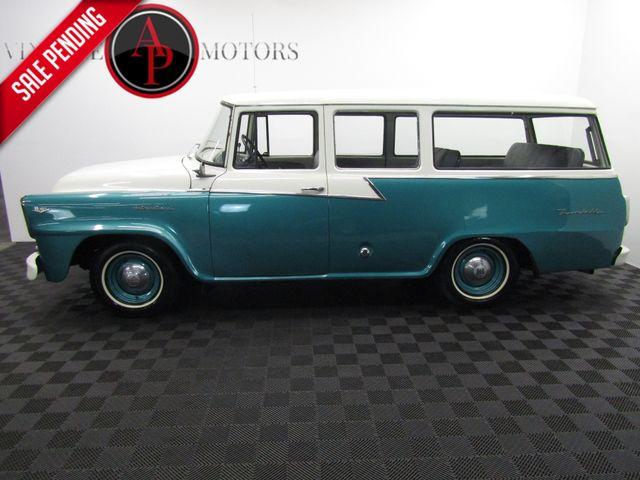1960 International TRAVELALL RARE B102 V8 AUTO 3 DOOR