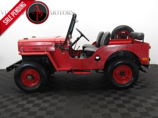 1960 Jeep CJ3B RARE HIGH HOOD 4X4 in Statesville, NC 28677
