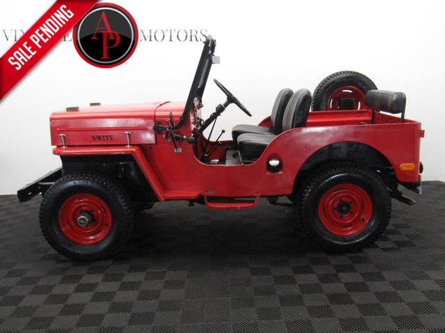 1960 Jeep CJ3B RARE HIGH HOOD 4X4
