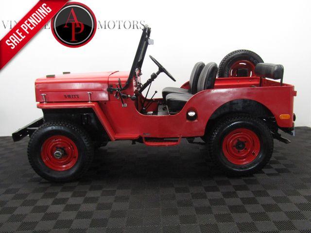 1960 Jeep CJ3B RARE HIGH HOOD 4X4