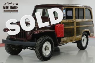 1960 Jeep WILLYS  RARE WAGON 4x4. V8 CONVERSION! SO COOL  | Denver, CO | Worldwide Vintage Autos in Denver CO