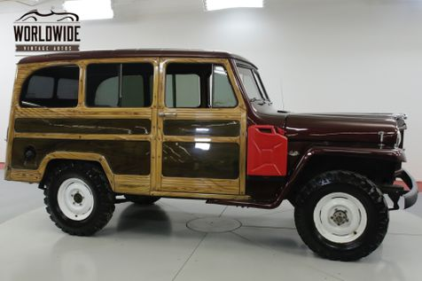 1960 Jeep WILLYS  RARE WAGON 4x4. V8 CONVERSION! SO COOL  | Denver, CO | Worldwide Vintage Autos in Denver, CO