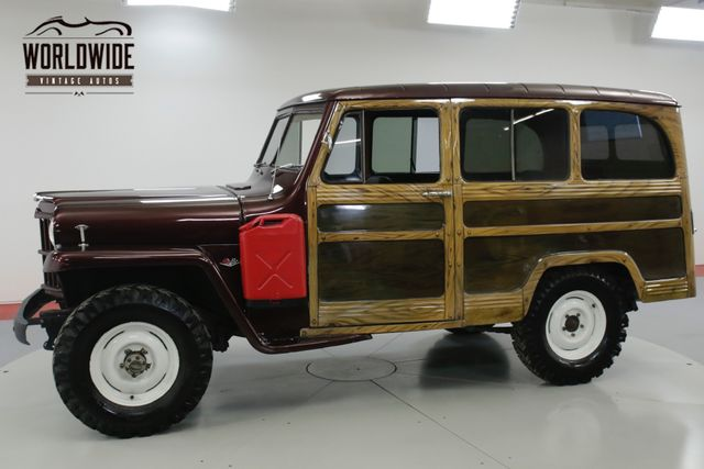1960 jeep willys willys rare wagon 4x4 v8 conversion! must see! ebayclick photos to enlarge * * *