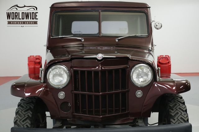 1960 jeep willys willys rare wagon 4x4 v8 conversion! must see! ebay