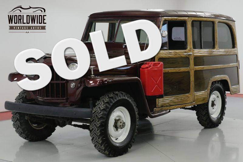 1960 Jeep WILLYS  RARE WAGON 4x4. V8 CONVERSION! SO COOL  | Denver, CO | Worldwide Vintage Autos