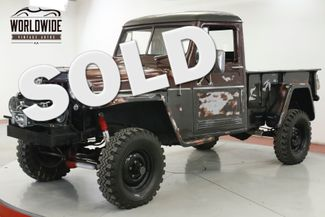 1960 Jeep WILLYS 4x4 INCREDIBLE PATINA CA TRUCK WINCH LIFT PS | Denver, CO | Worldwide Vintage Autos in Denver CO