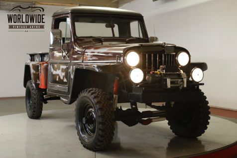1960 Jeep WILLYS 4x4 INCREDIBLE PATINA CA TRUCK WINCH LIFT PS | Denver, CO | Worldwide Vintage Autos in Denver, CO