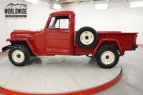1960 Jeep WILLYS RESTORED REBUILT HURRICANE 6 CYLINDER 4x4 | Denver, CO | Worldwide Vintage Autos in Denver, CO