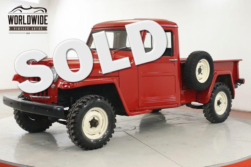 1960 Jeep WILLYS RESTORED REBUILT HURRICANE 6 CYLINDER 4x4 | Denver, CO | Worldwide Vintage Autos
