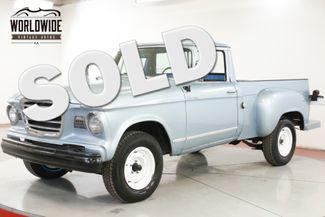 1960 Studebaker CHAMP RARE TRUCK FIRST YEAR | Denver, CO | Worldwide Vintage Autos in Denver CO