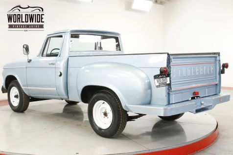 1960 Studebaker CHAMP RARE TRUCK FIRST YEAR | Denver, CO | Worldwide Vintage Autos in Denver, CO