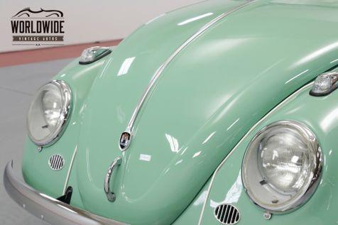 1960 Volkswagen BEETLE FULLY RESTORED. RARE. DISC BRAKES. SHOW OR GO   Denver, CO   Worldwide Vintage Autos in Denver, CO