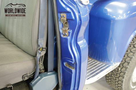 1961 Chevrolet APACHE 4x4 SHORT BED COLD AC! V8 PS PB AUTO | Denver, CO | Worldwide Vintage Autos in Denver, CO