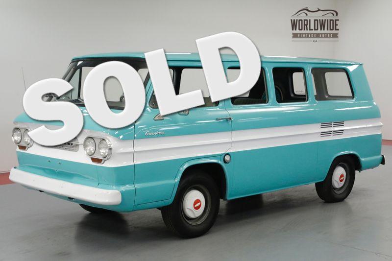 1961 Chevrolet GREENBRIAR RARE RESTORED MUST SEE! 2.4L FLAT 6 CYLINDER.(VIP) | Denver, CO | Worldwide Vintage Autos